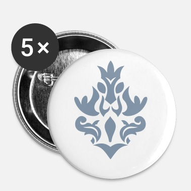 Glamour glamour SILVER - Buttons/Badges lille, 25 mm