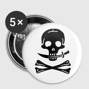 Pirate Pirates Skull - Buttons small 25 mm