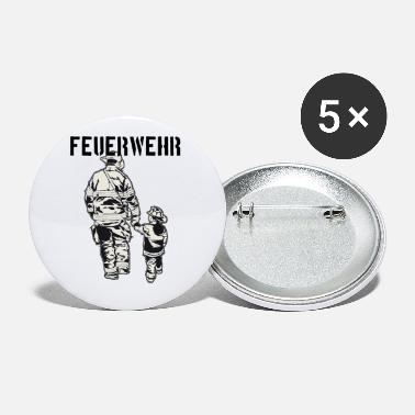 Fire Fighter fire Department - Small Buttons