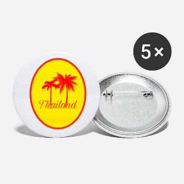 Asien Thailand Asien Country Travel - Små buttons
