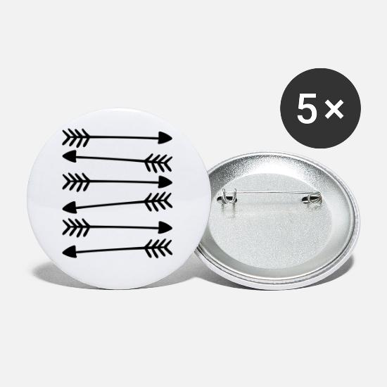 Cool Buttons & badges - Hand Drawn Arrows 2 - Små buttons hvid