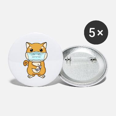 Soap Shiba Inu Dog Mouthguard Hands Wash Soap - Small Buttons