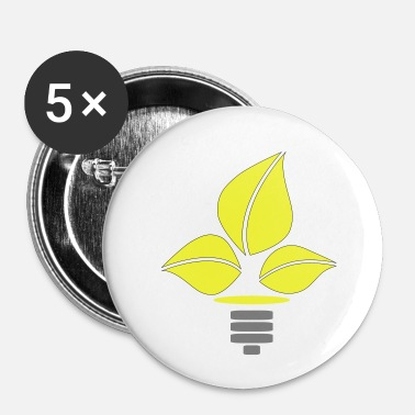 Eco Eco Lightbulb - Buttons klein 25 mm