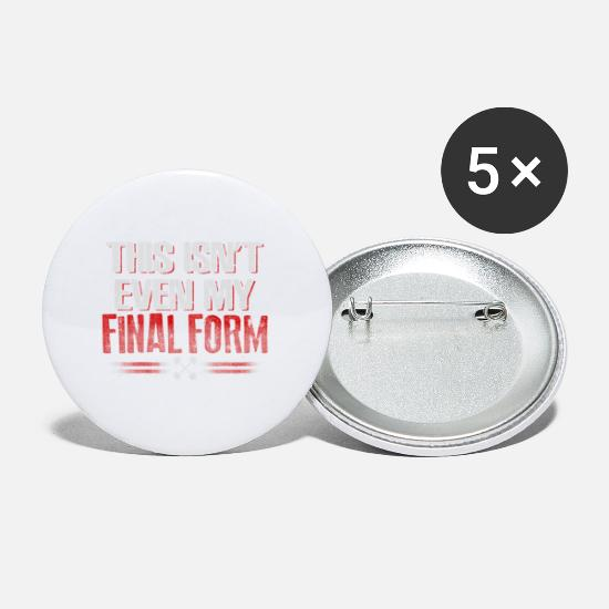 Running Buttons - Final Form Fitness - EN - Small Buttons white