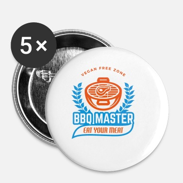 Bbq Master BBQ Master - Buttons klein 25 mm (5-pack)