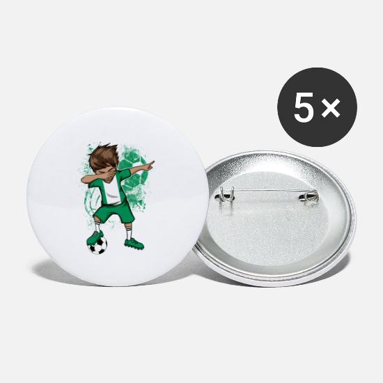 National Team Buttons - Nigeria football national team jersey - Small Buttons white