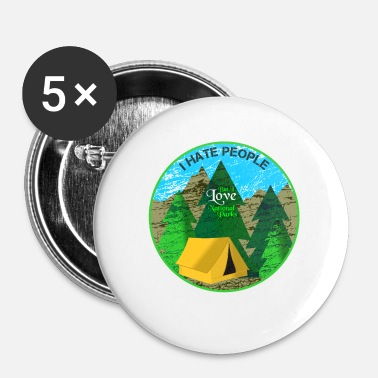 National Parcs nationaux - Badge petit 25 mm