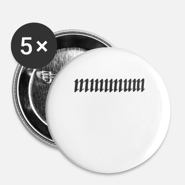 Minimum minimum - Badge petit 25 mm
