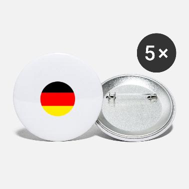 Schland Germany flag - Small Buttons