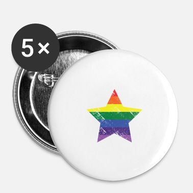 Christopher Street Day Christopher street day Stern - Buttons klein 25 mm