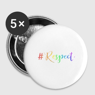#RESPECT - Buttons klein 25 mm