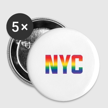 Christopher Street NYC - Buttons klein 25 mm