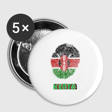 KENYA, KENYA DNA FINGERPRINT - Buttons small 25 mm