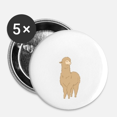 Alpaca Ready for the Alpaca Alpaca Alpaca Cool - Buttons small 25 mm