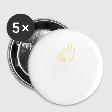 Psychologue psychologue psychologue - Badge petit 25 mm