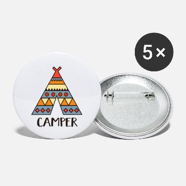 Camper camper - Small Buttons