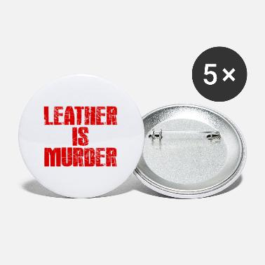 Ledrig Leather is Murder - Buttons klein