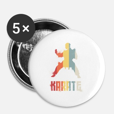 Karate karate - Buttons/Badges lille, 25 mm