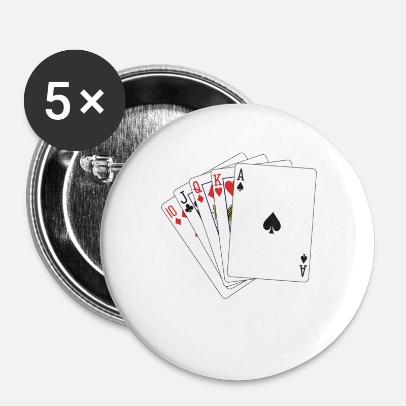 Russian Card Game Durak Russki Funny Gift Small Buttons