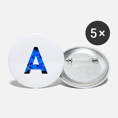 Letter Letter A - Small Buttons