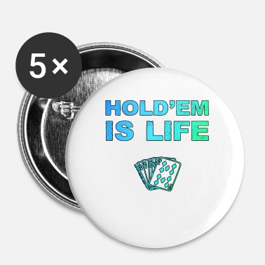 Holdem Poker Poker Poker Texas Holdem Jeu de cartes - Badge petit 25 mm