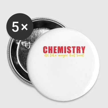 Chimie Chimie Chimie - Badge petit 25 mm