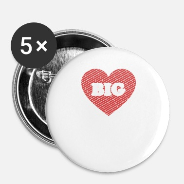 Big Big Heart - Big Heart - Badge petit 25 mm