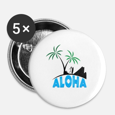 Hawaii Hawaii - Buttons/Badges lille, 25 mm
