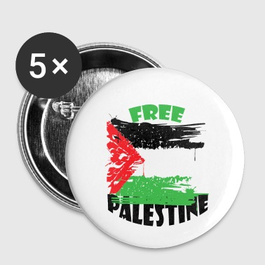 vrije Palestina - Buttons klein 25 mm