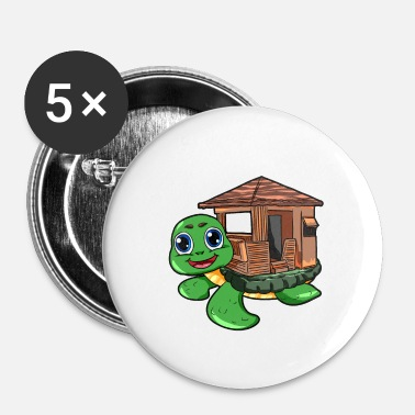 House Turtle House Turtle House - Buttons/Badges lille, 25 mm