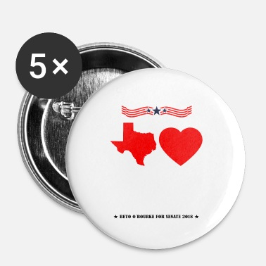 Partito Democratico Texas Loves Beto Shirt Beto O'Rourke Senate 2018 - Spilla piccola 25 mm