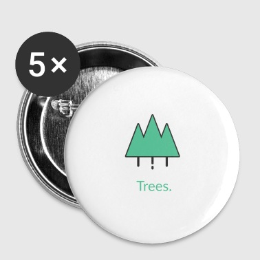 Arbre Arbres arbres - Badge petit 25 mm