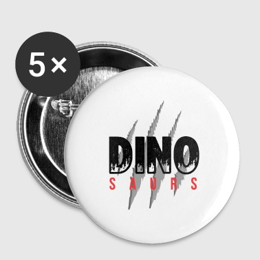 Dinosaurs dinosaurs - Buttons small 25 mm