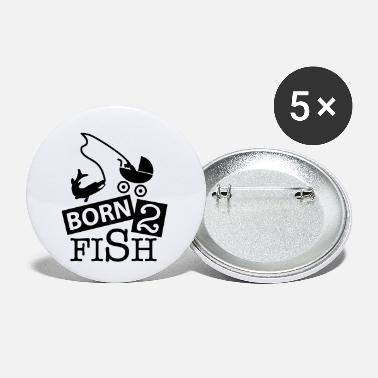 Blinker born_2_fish_co1 - Buttons klein