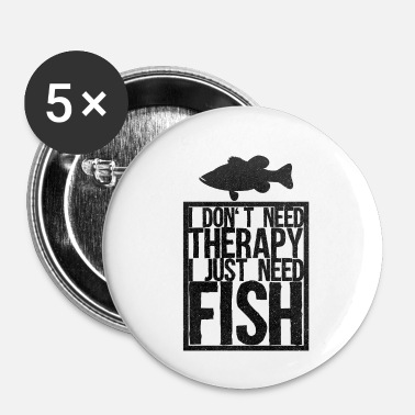 Poison Poisson poisson poisson - Badge petit 25 mm