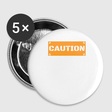 this person is hangry hungry - Buttons small 25 mm