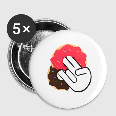 Sex Position Donuts Finger Sex Sex Position Vulgar Macabre - Buttons small 25 mm