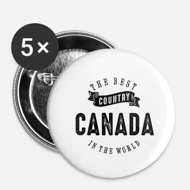 Canada MEILLEUR PAYS - CANADA - Badge petit 25 mm