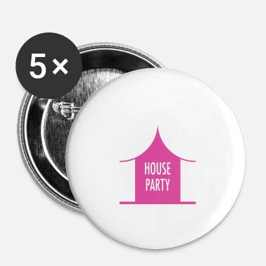 House House party - Buttons/Badges lille, 25 mm