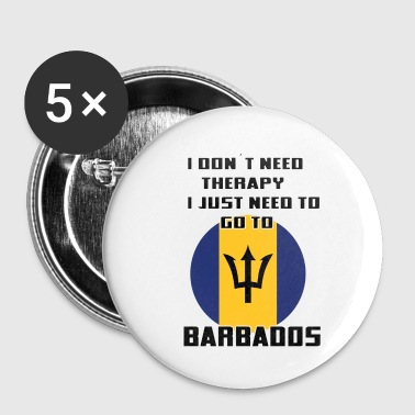 Barbados Barbados - Buttons small 25 mm