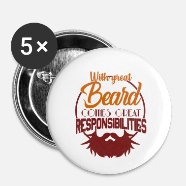 Barbe Barbe barbe - Badge petit 25 mm