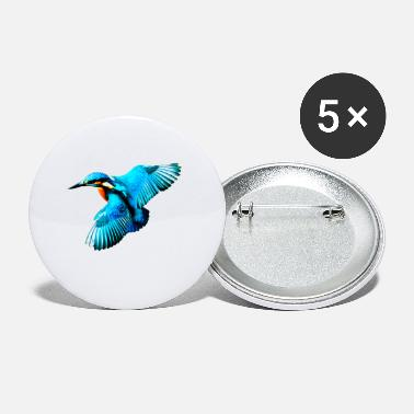kingfisher - Small Buttons