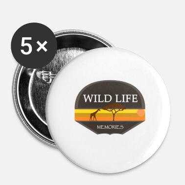 Safari safari - Badge petit 25 mm