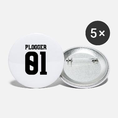 Plogger Plogger environmental protection and hero eco-hero - Small Buttons
