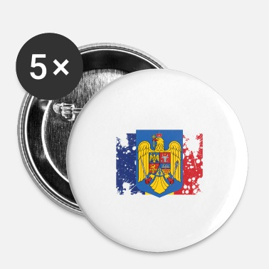 Culture Culture roumaine - Badge petit 25 mm