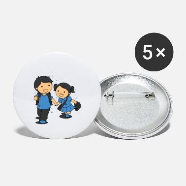Students student - Small Buttons