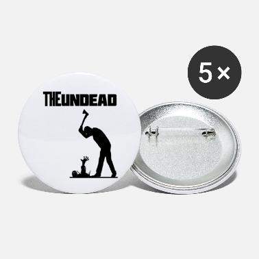Undead The undead Halloween - Buttons klein