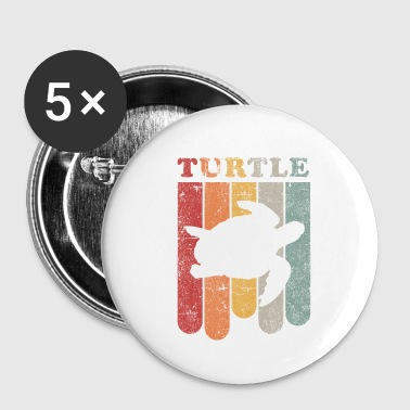 tortue - Badge petit 25 mm