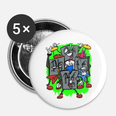 Heavy Heavy Metal - Badge petit 25 mm