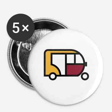 Tuk Tuk Tuk Tuk Cute Gift Idea - Buttons small 25 mm